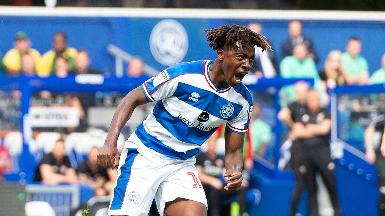 QPR's Ebere Eze can't seem to buy his way into the Nigeria team at the moment, despite his excellent efforts in England.