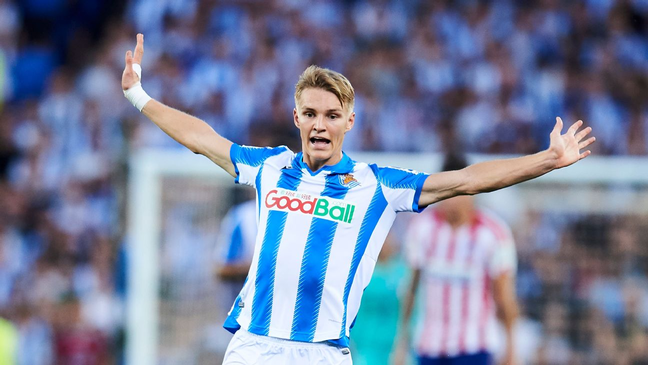 Martin Odegaard was the youngest Real Madrid player ever but is showing La Liga he's more than a piece of trivia