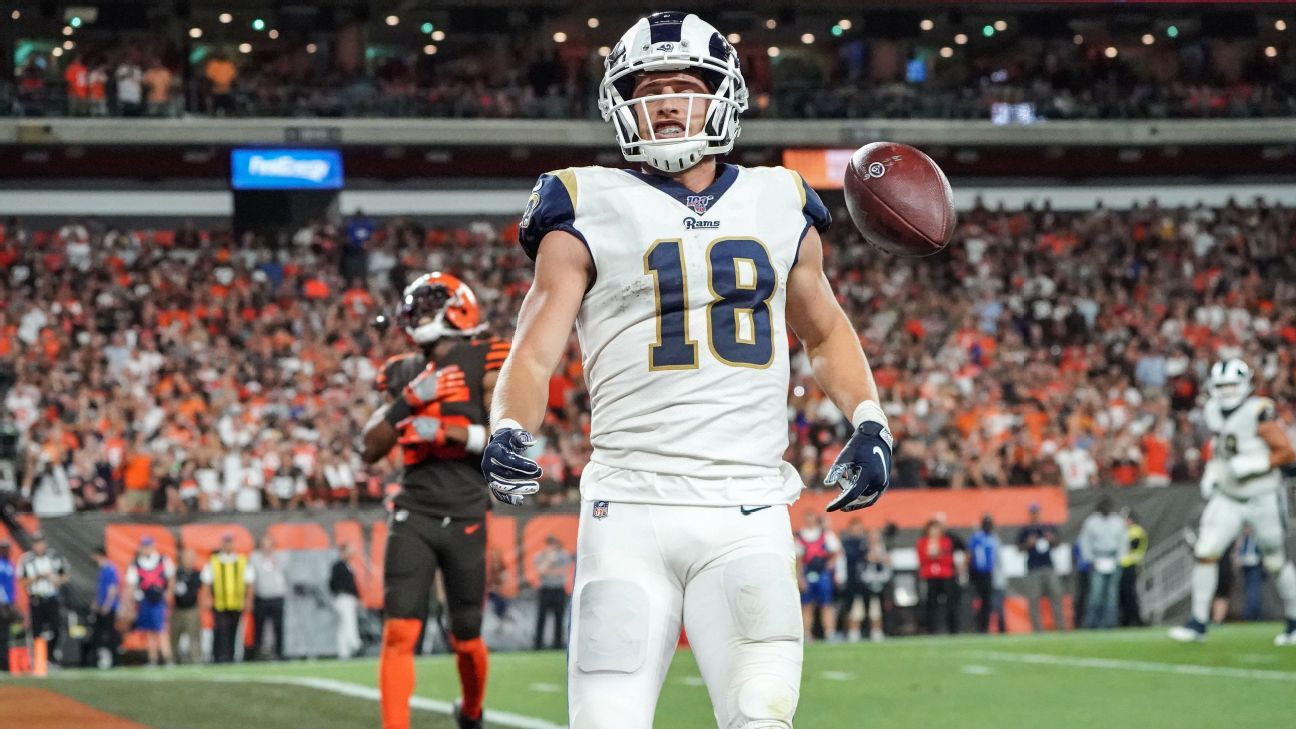Los Angeles Rams Wr Cooper Kupp Agree To 3 Year Extension