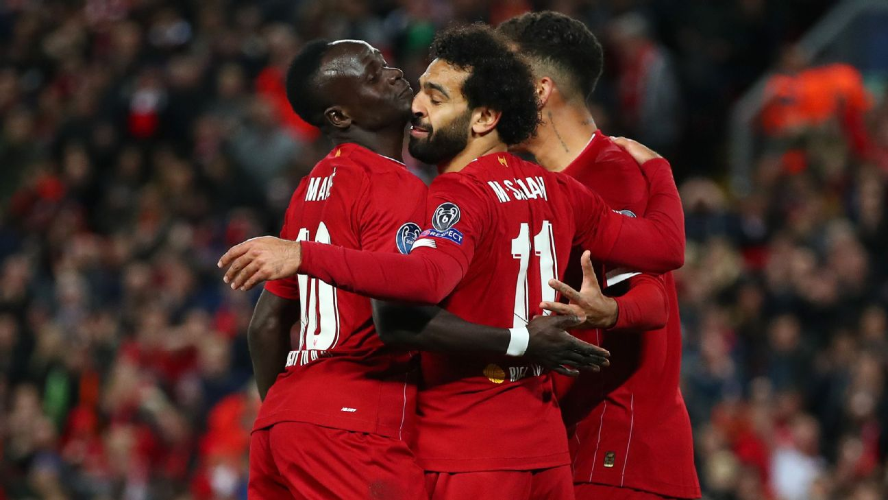 Mane 9/10, Salah 8/10 as Liverpool rally to avoid a scare vs. FC Salzburg