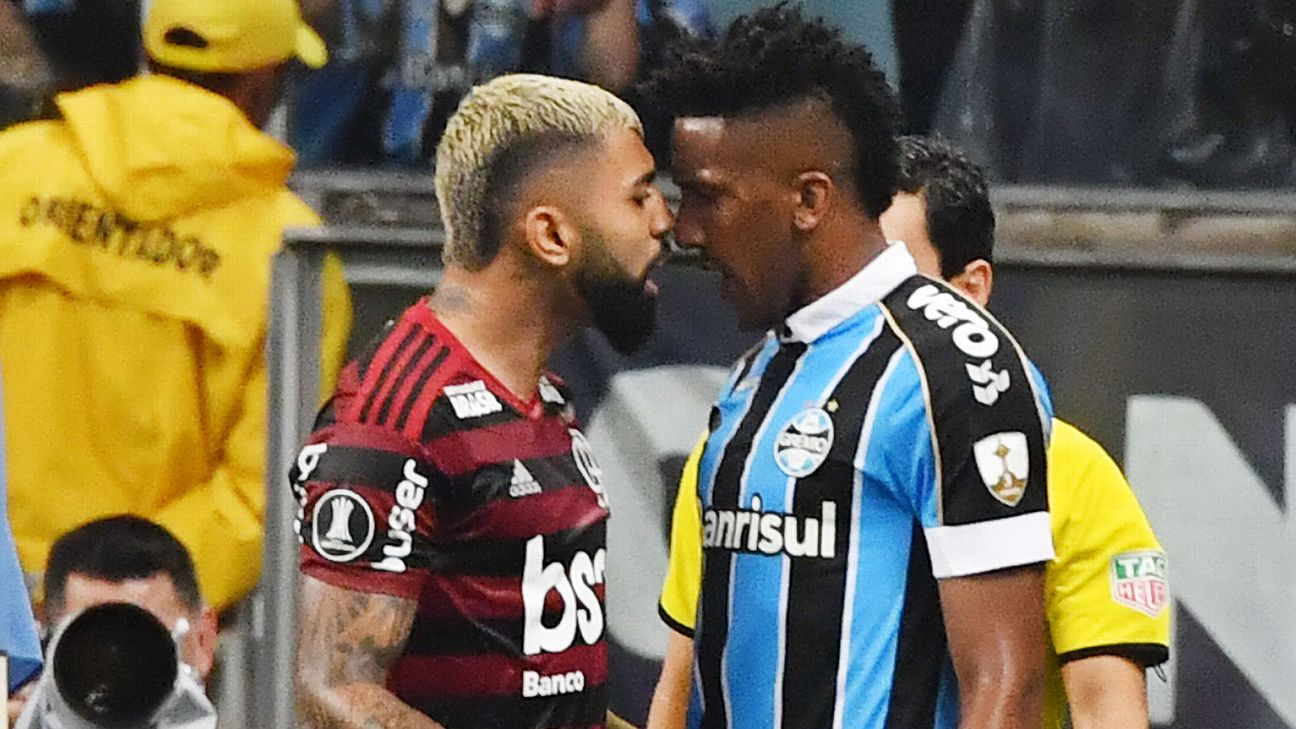 Gabriel Barbosa and Bruno Cortez