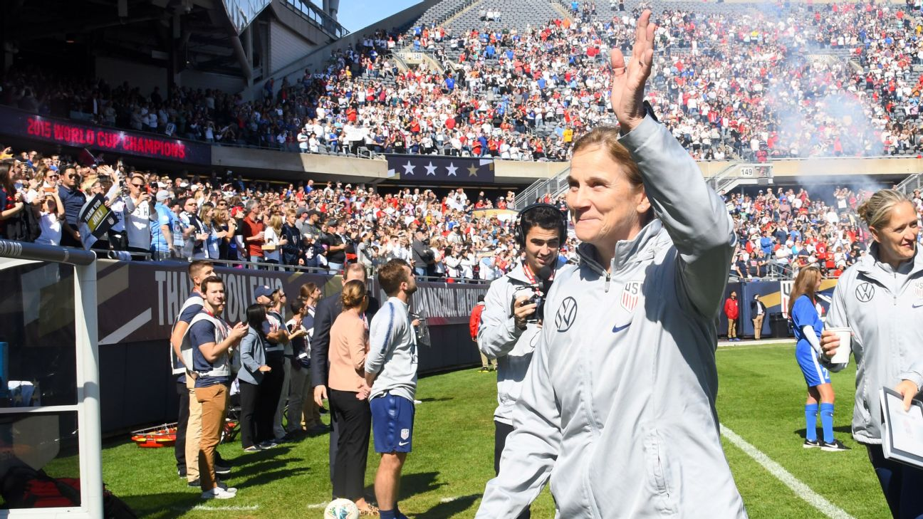 Jill Ellis' 132-game tenure as coach of the U.S. Women's National Team ended with a 1-1 draw against South Korea.