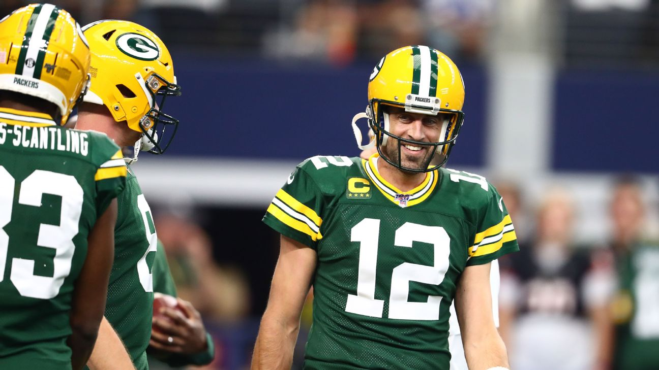 Packers' good vibrations: Aaron Rodgers likes 'the vibe on this team' - Green Bay Packers Blog- ESPN