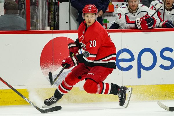 Canes' Aho amused by team's trolling of Habs
