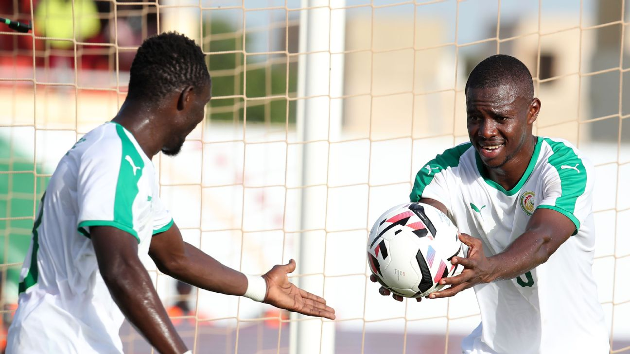 Assane Mbodj (R) has been a bright light for hosts Senegal during this WAFU Cup.