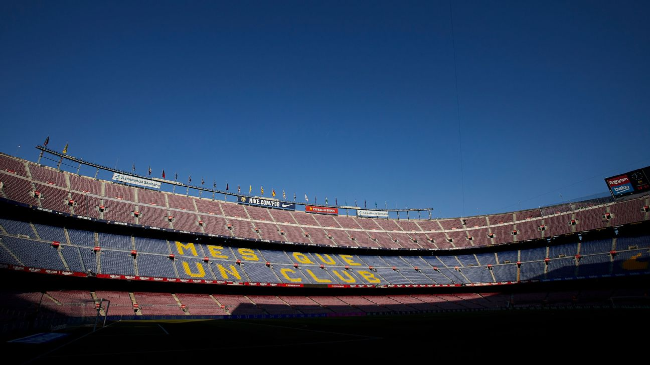 Barcelona, Camp Nou general view