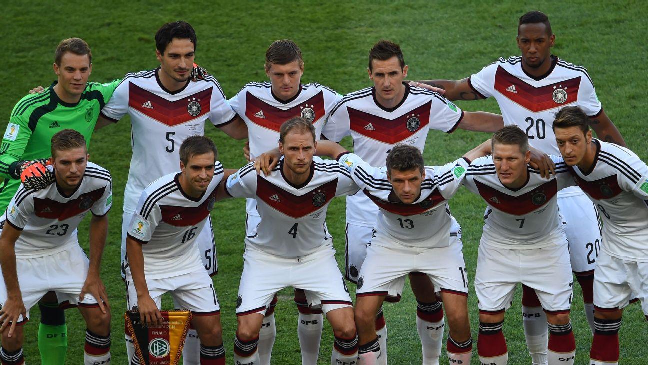 Resultado de imagem para Seleção da Alemanha some com geração do 7 a 1 cinco anos depois
