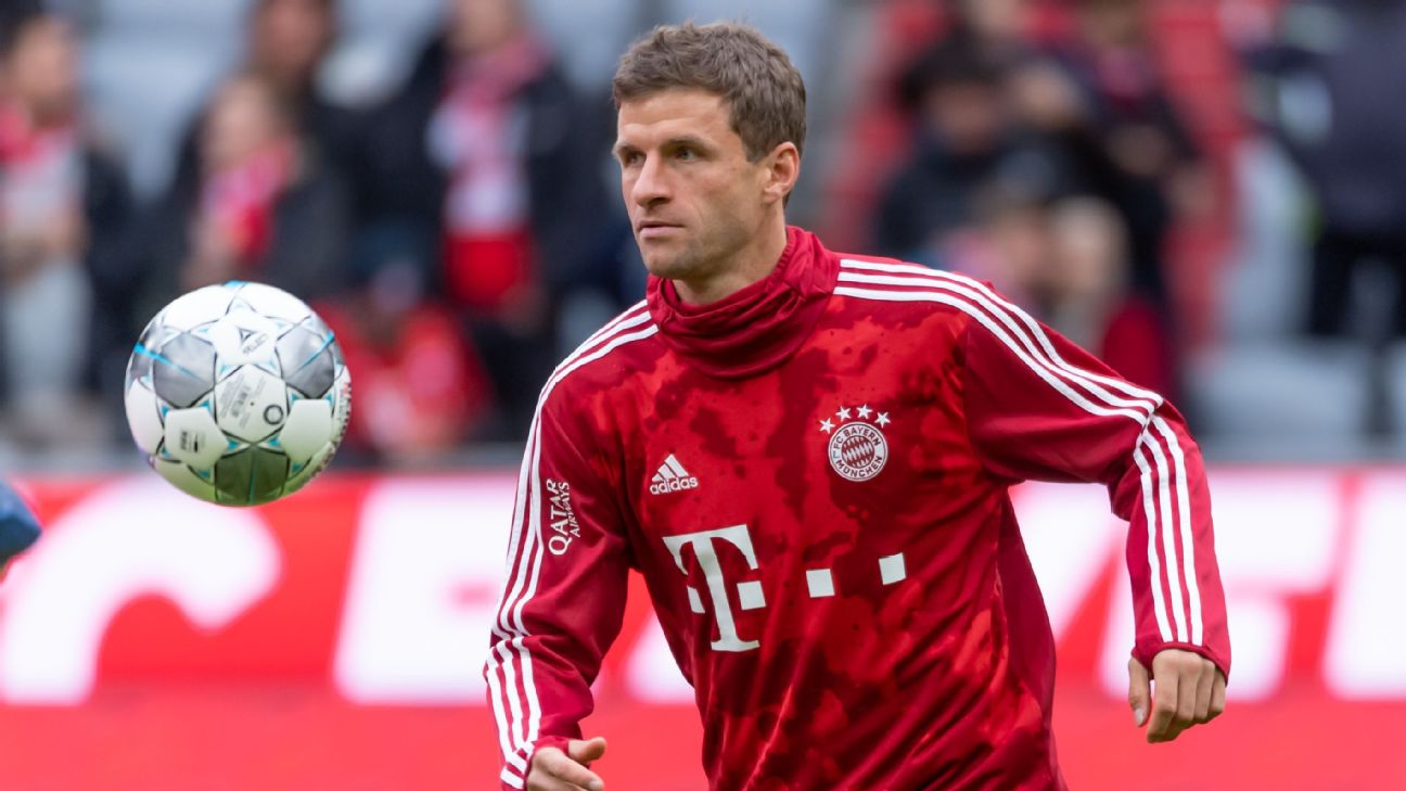 Thomas Muller's demotion to the bench at Bayern Munich comes six months after he lost his spot in the Germany squad.