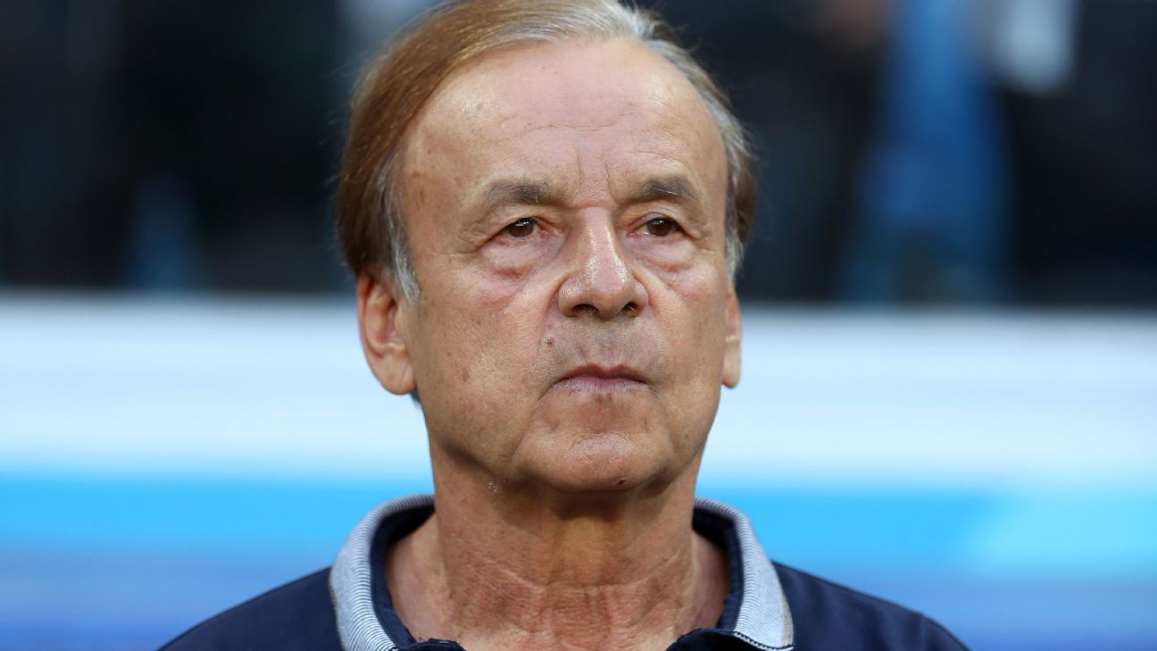 Questions have arisen over Nigeria coach Gernot Rohr's,tactical game management.