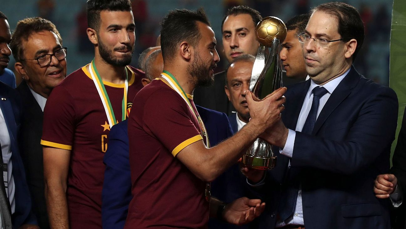 Esperance de Tunis are looking to win the CAF Champions League for the third consecutive season.