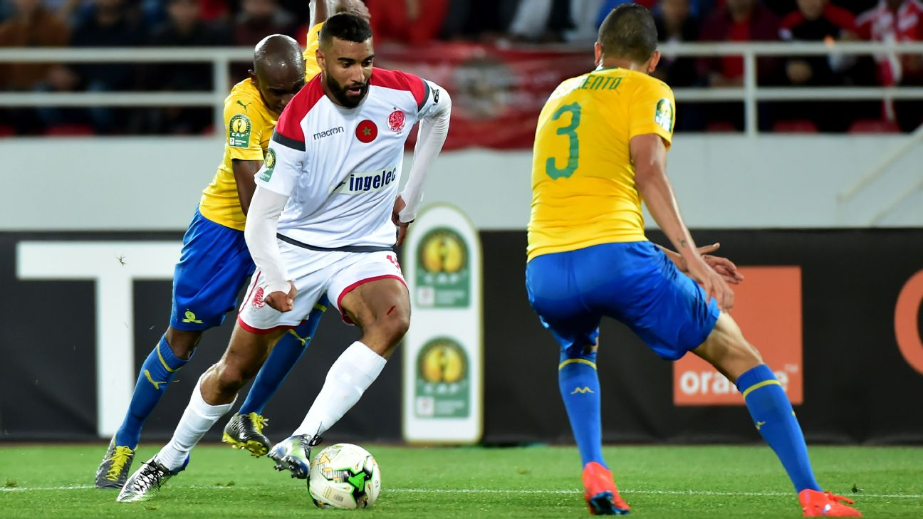 Ismail El Haddad and Wydad Athletic Club knocked Mamelodi Sundowns out of the CAF Champions League last season.