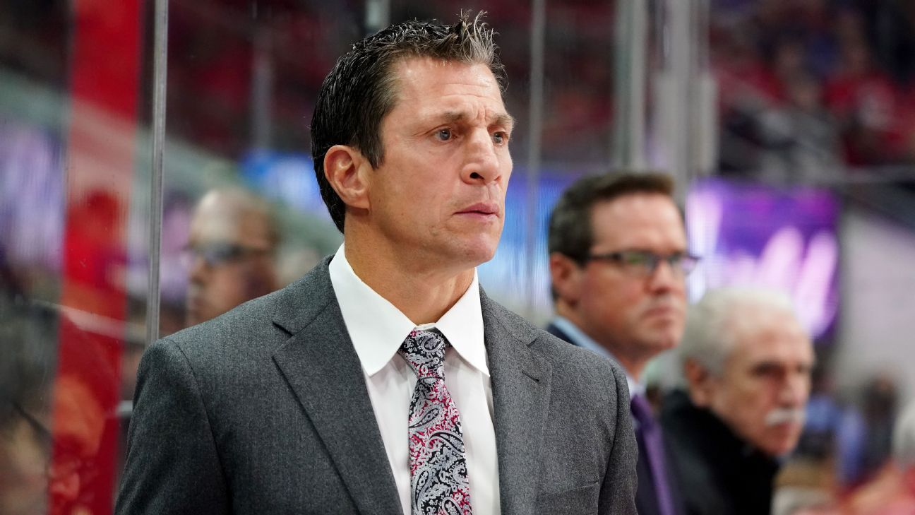 Why Rod 'the Bod' Brind'Amour is the perfect coach for the Carolina Hurricanes