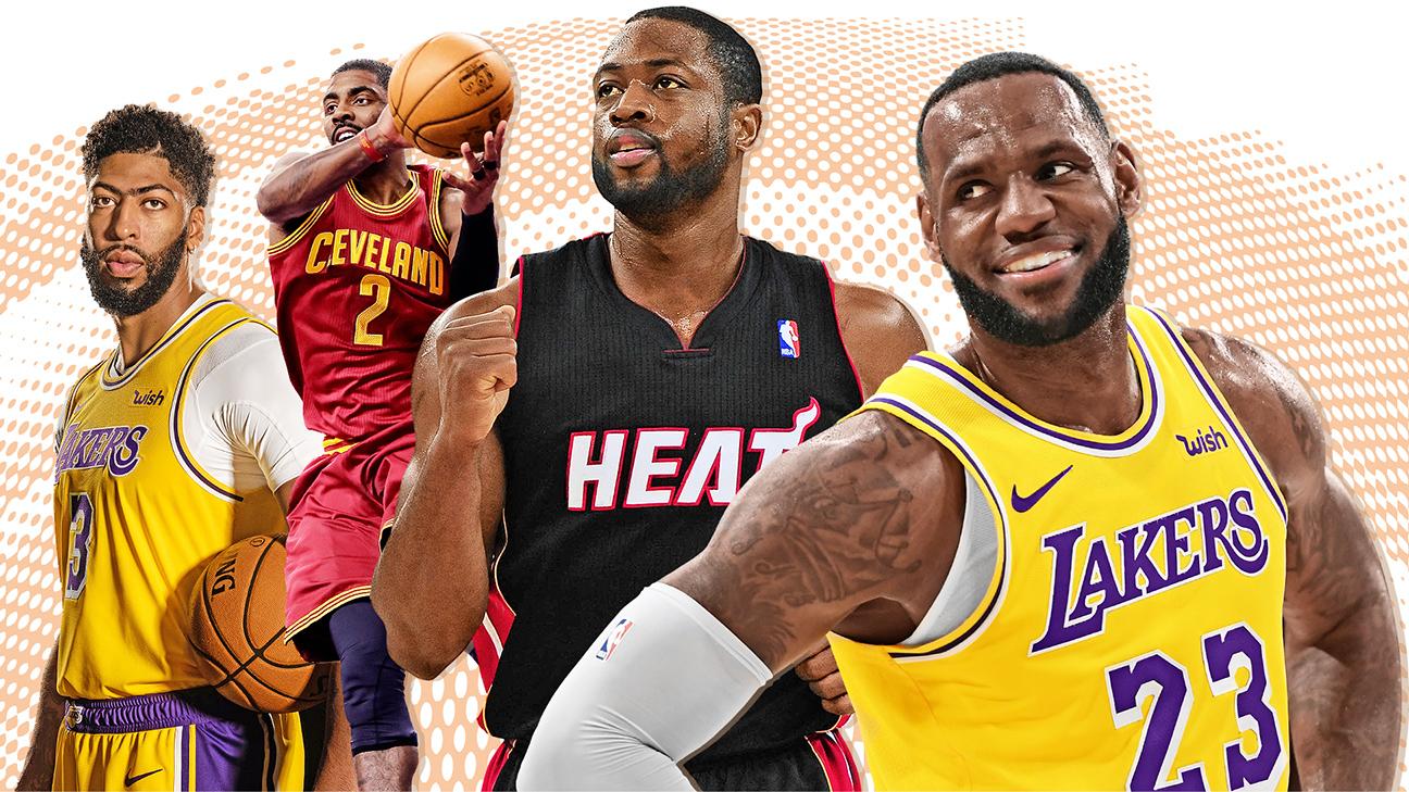 Ranking the best teammates LeBron James