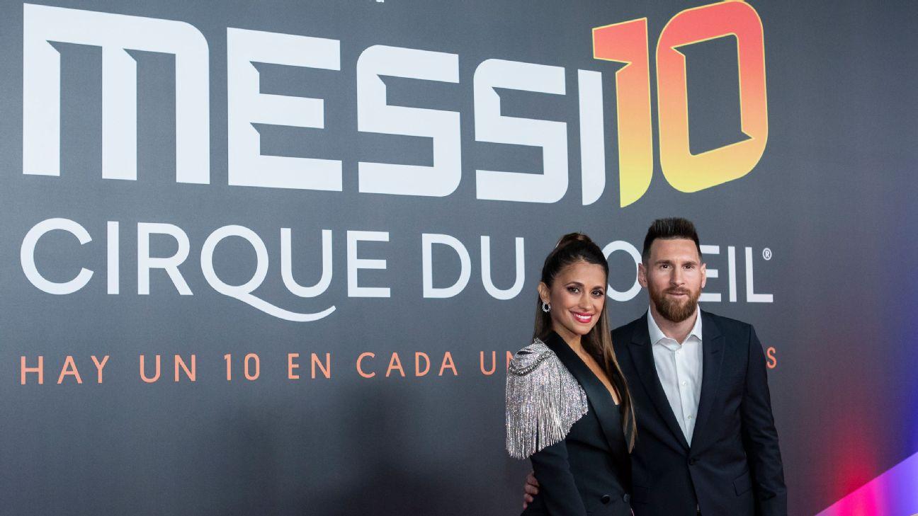 Lionel Messi gets the Cirque du Soleil treatment: A surreal tribute to the Barca legend