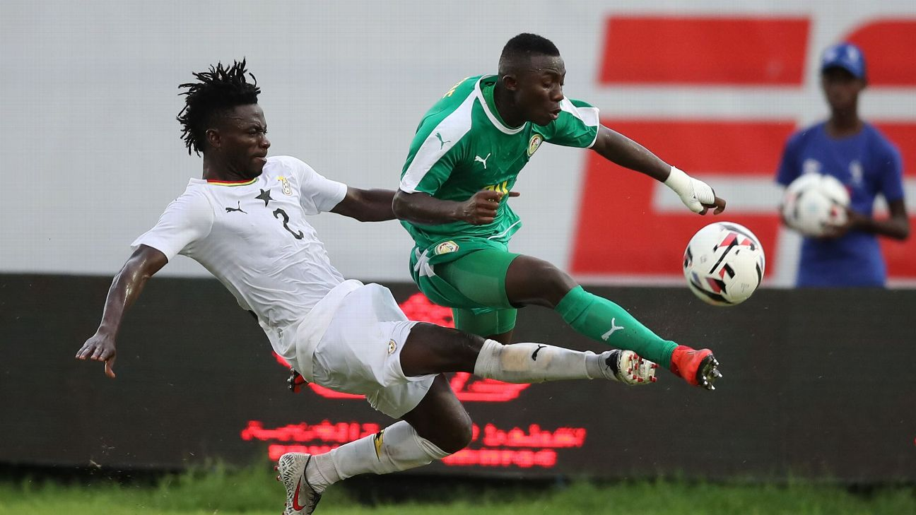 Senegal's Ibrahima Drame has a bright future, provided he can keep his discipline in check.