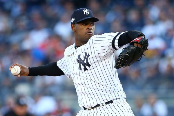 Yankees shut down Severino; IL stint 'possible'