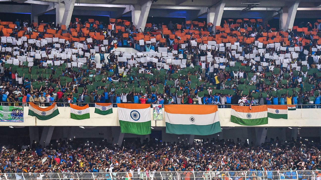 Despite India's lacklustre performance against Bangladesh in Kolkata, the energy levels of the crowd never wilted.