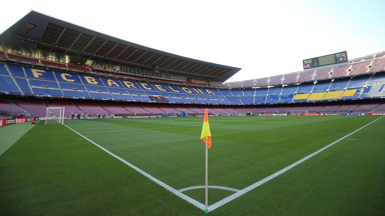 Barcelona corner flag