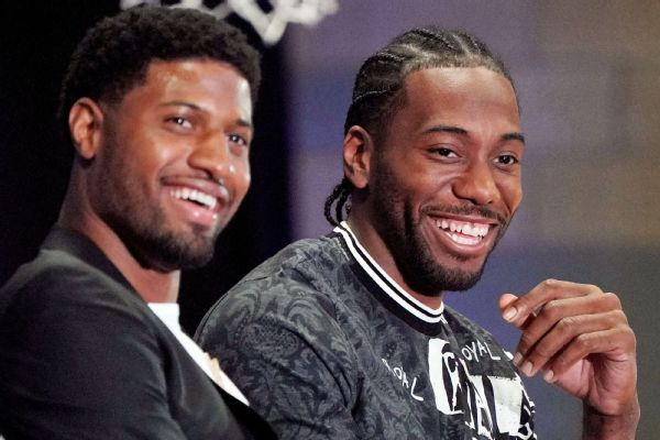 Sources: Kawhi, with George, plans to face
