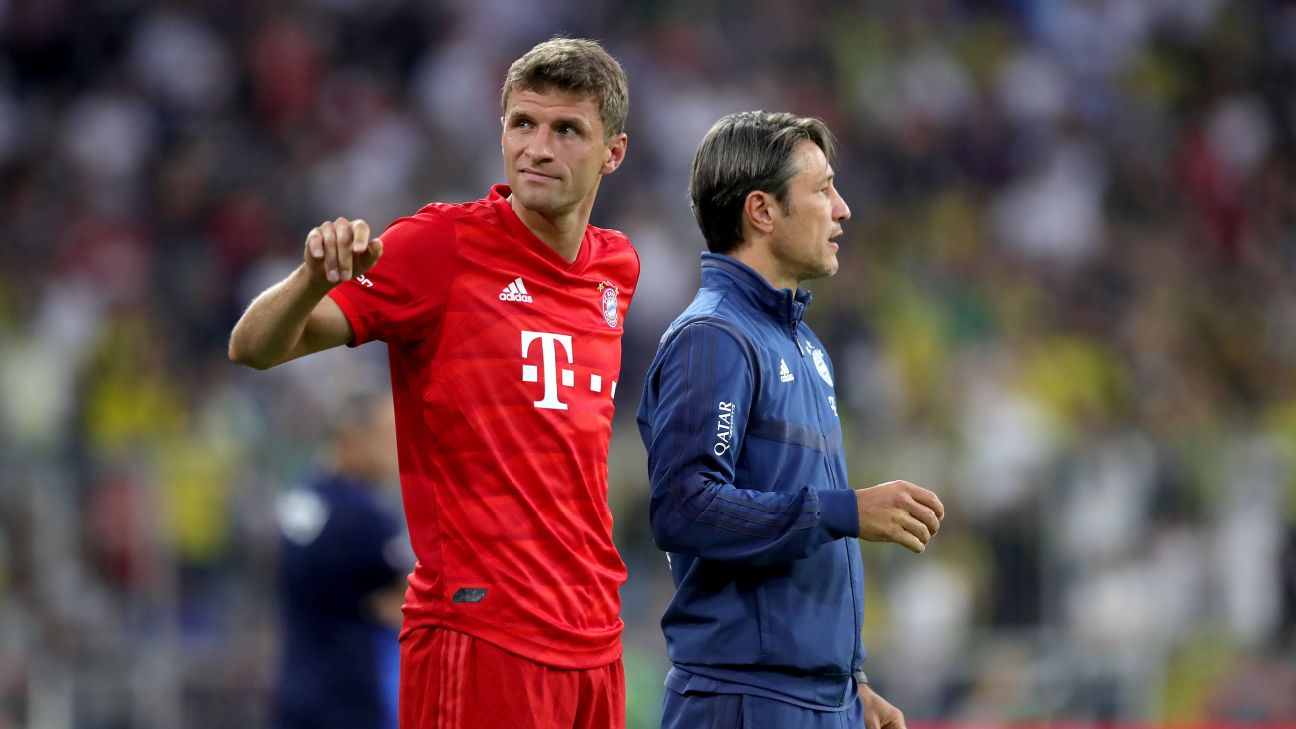 Thomas Muller said last week he is