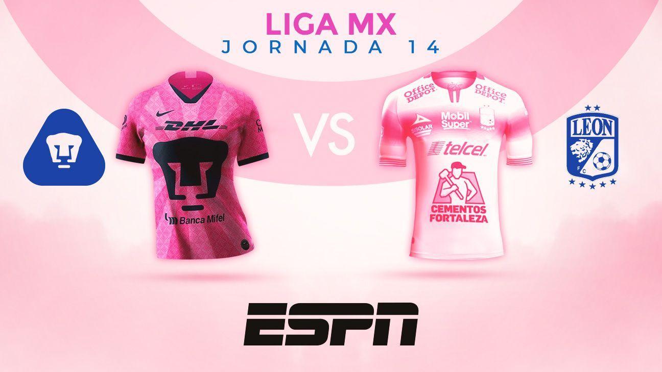 Pumas presenta jersey rosa con motivo de la lucha contra el