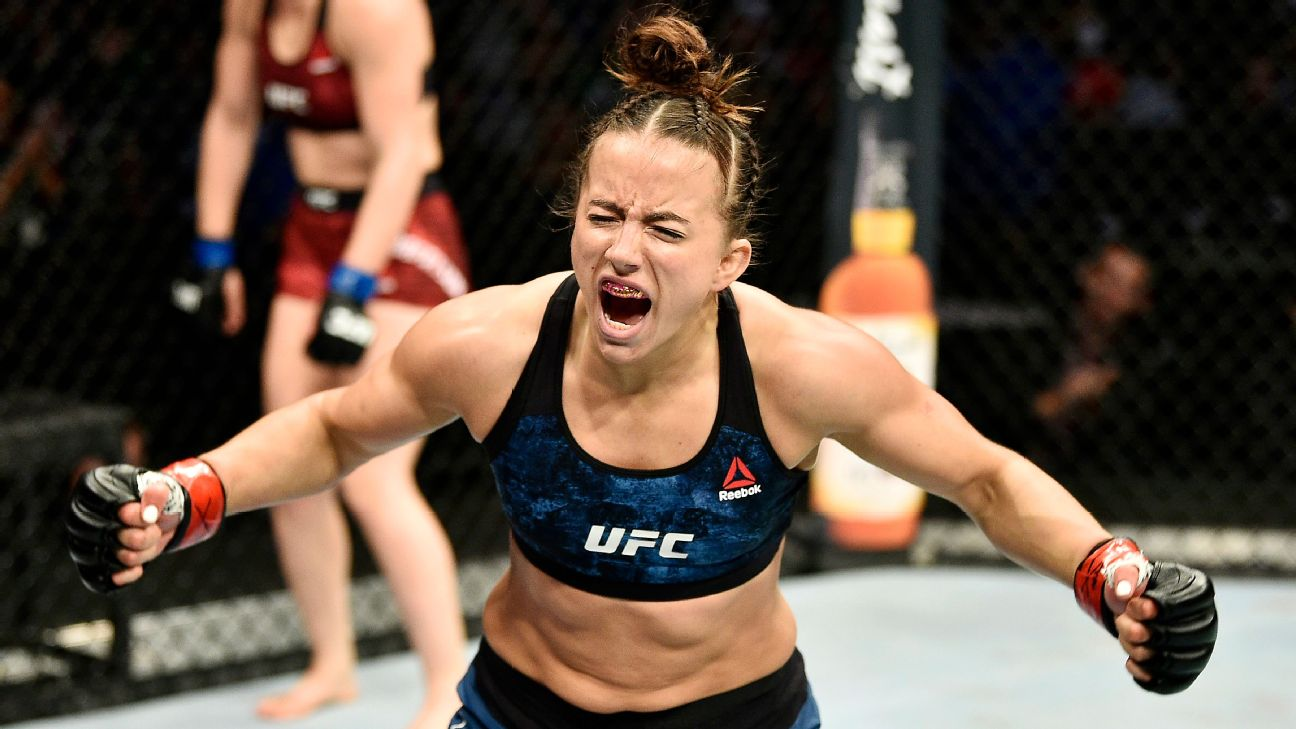 Maycee Barber suffered complete ACL tear in loss at UFC 246