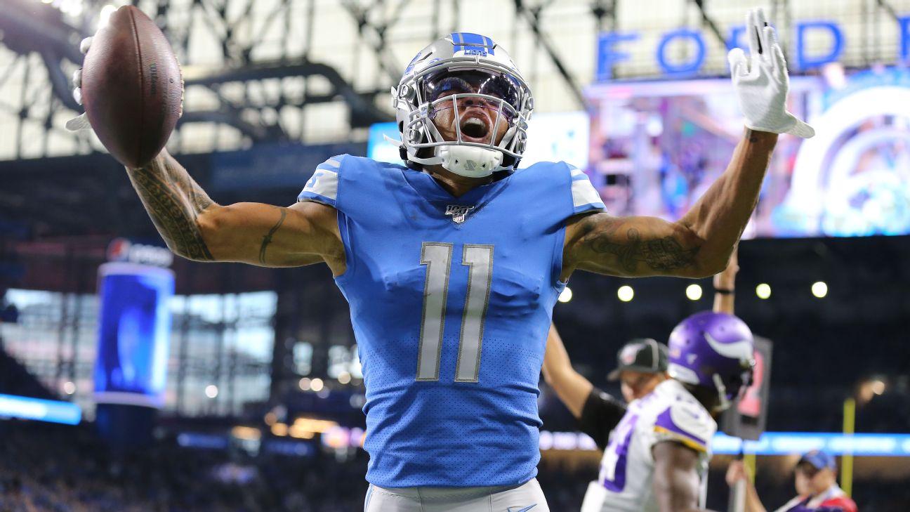 Lions WR Marvin Jones enjoys second career 4-touchdown game
