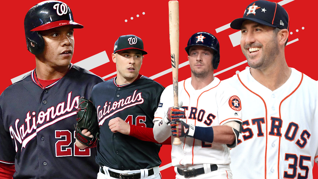Ranking all 50 players in the Astros-Nationals World Series