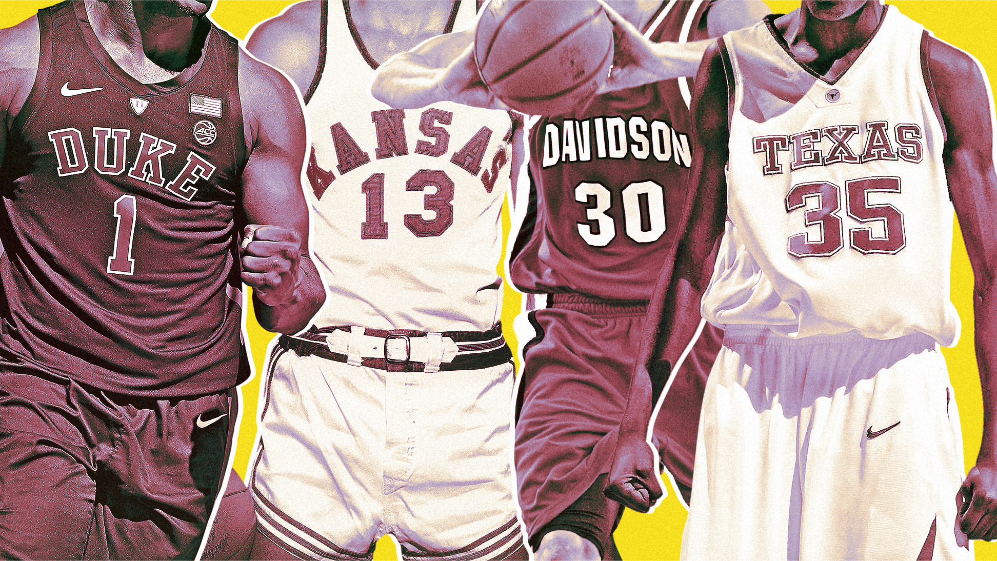 The best player in college basketball history at every jersey number