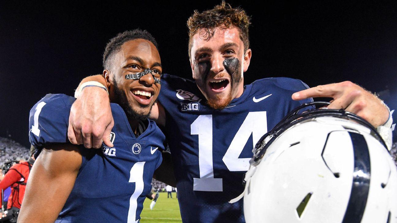 Penn State's Sean Clifford and KJ Hamler are livin' the dream - WPVI-TV