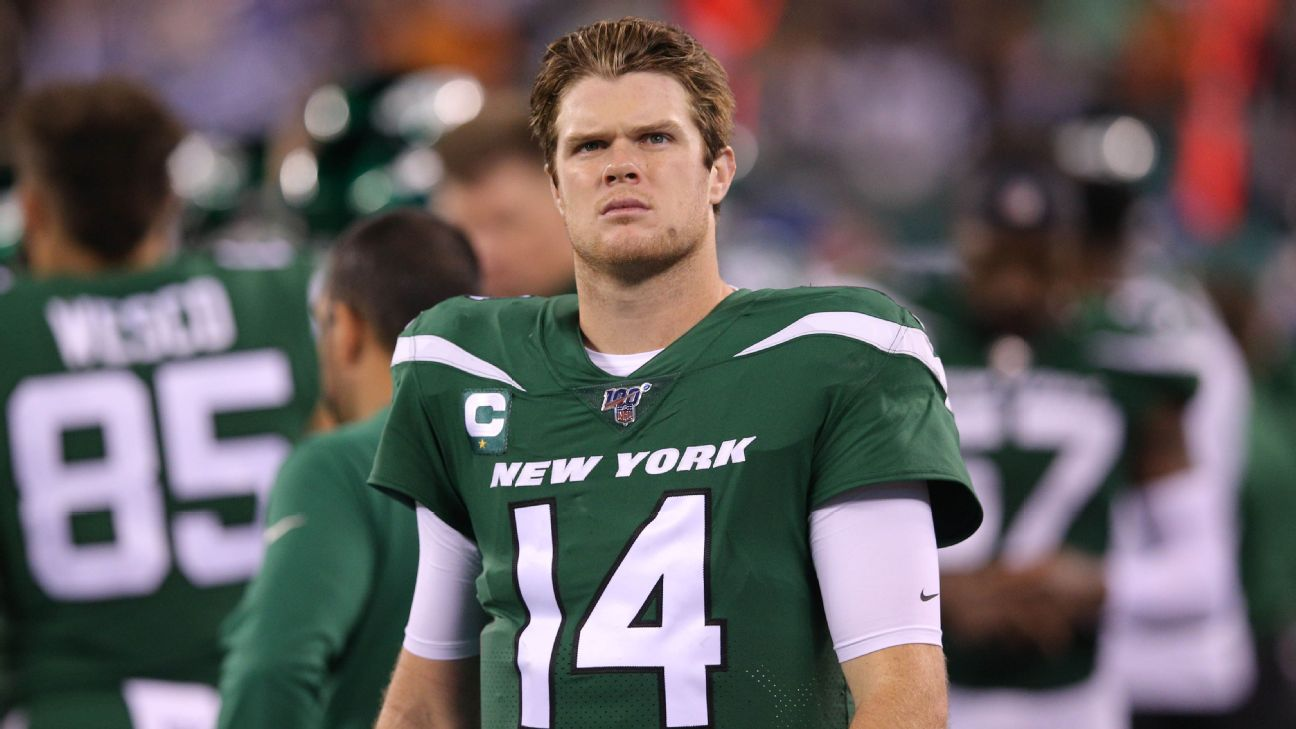 Jets Fuming Sam Darnold S Seeing Ghosts Comment Made Air