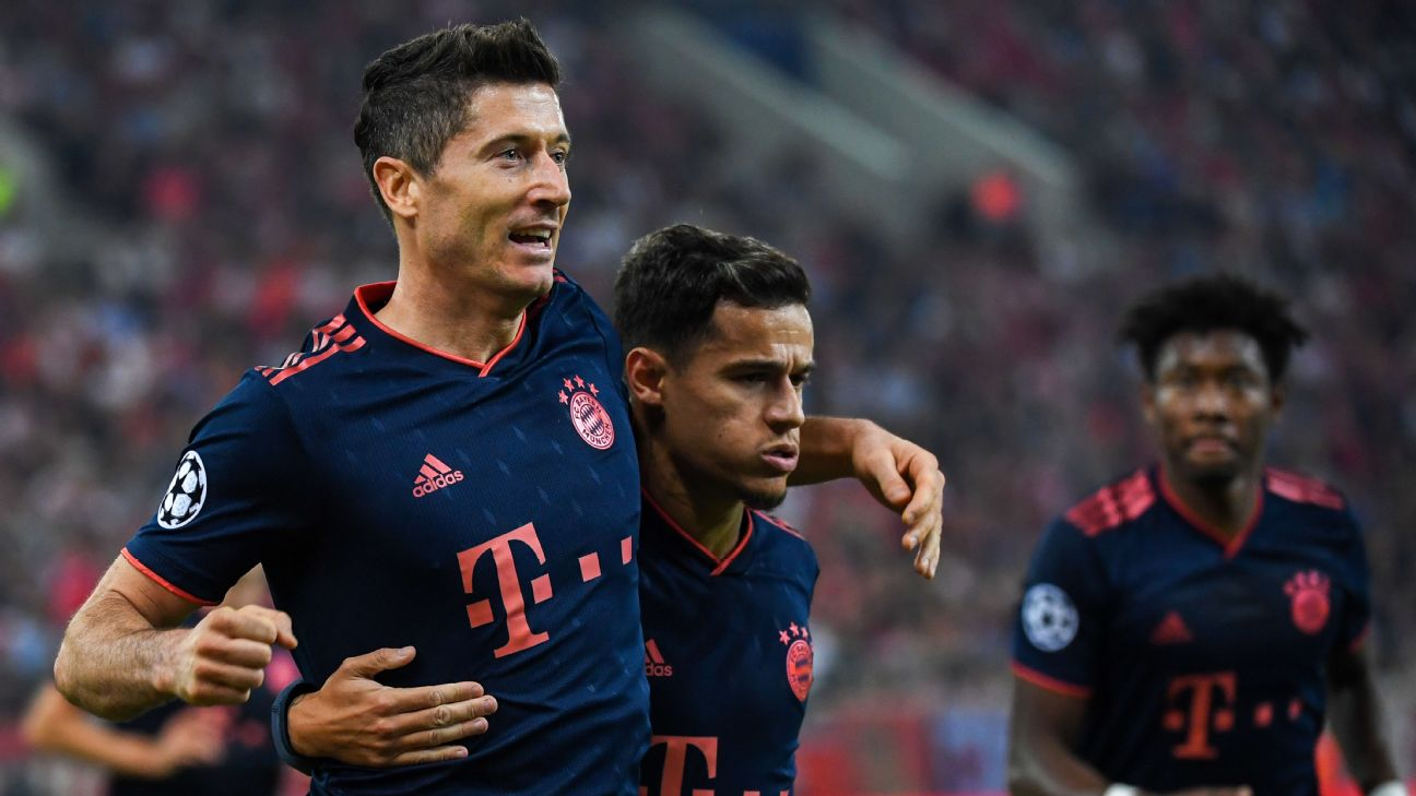 Robert Lewandowski and Philippe Coutinho