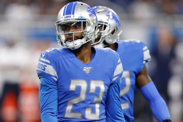 Source: Lions trade CB Slay to Eagles for picks