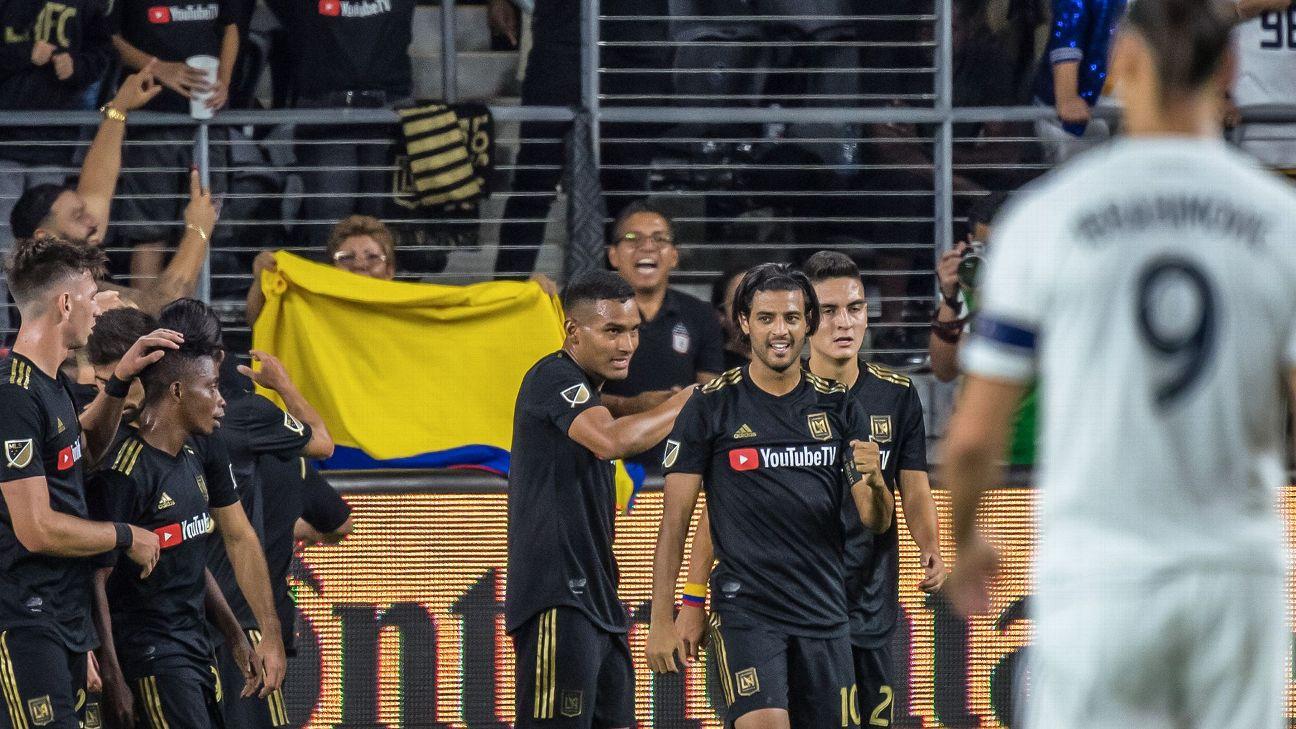 LAFC Finally Slays LA Galaxy Dragon As Carlos Vela Outshines