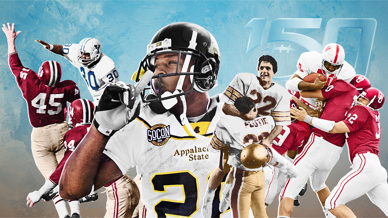 The 150 Greatest Games In College Football S 150 Year History Abc7 Los Angeles