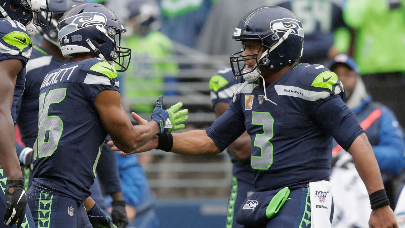 Russell Wilson Tyler Lockett Combo Quickly Becoming One Of