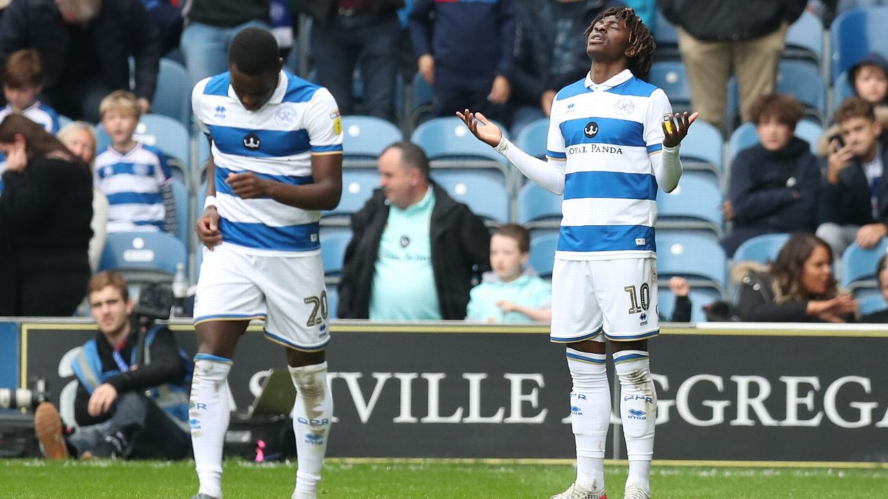 Ebere Eze is playing so well for Queens Park Rangers  that he will soon be pushing for Nigeria Super Eagles selection, Colin Udoh writes.