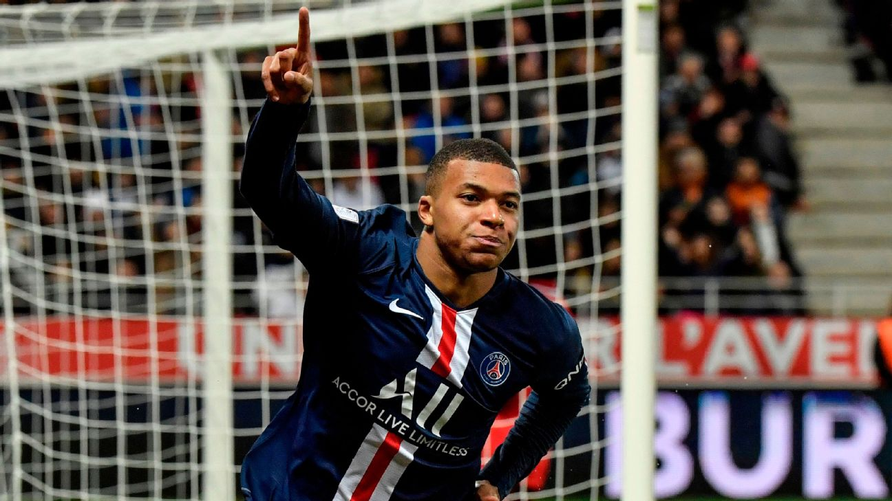 PSG Mbappe: Liverpool 'like a machine' at the moment - ENGLISH FOOTBALL 1