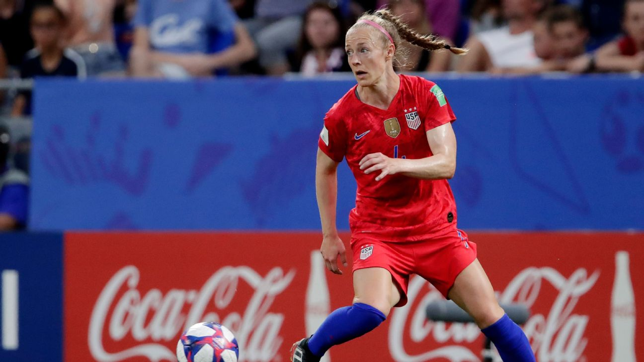 After playing for him for five years in Kansas City, Becky Sauerbrunn has no doubt that Vlatko Andonovski has researched all the Swedish players and all the formations that they've played in the past.
