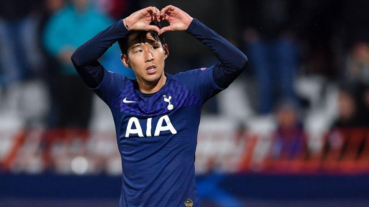 Tottenham Hotspur's South Korean striker Son Heung-Min