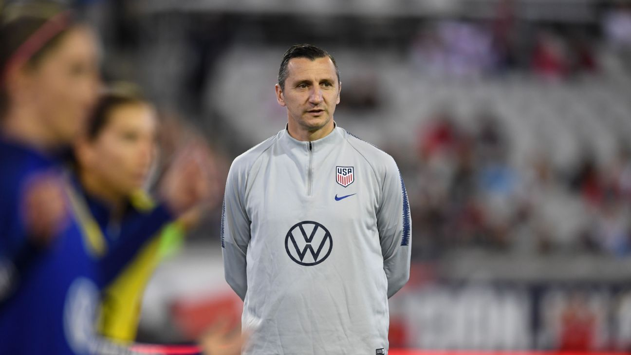 Taking over the best team in the world, new USWNT coach Vlatko Andonovski has no desire to come in and change everything.