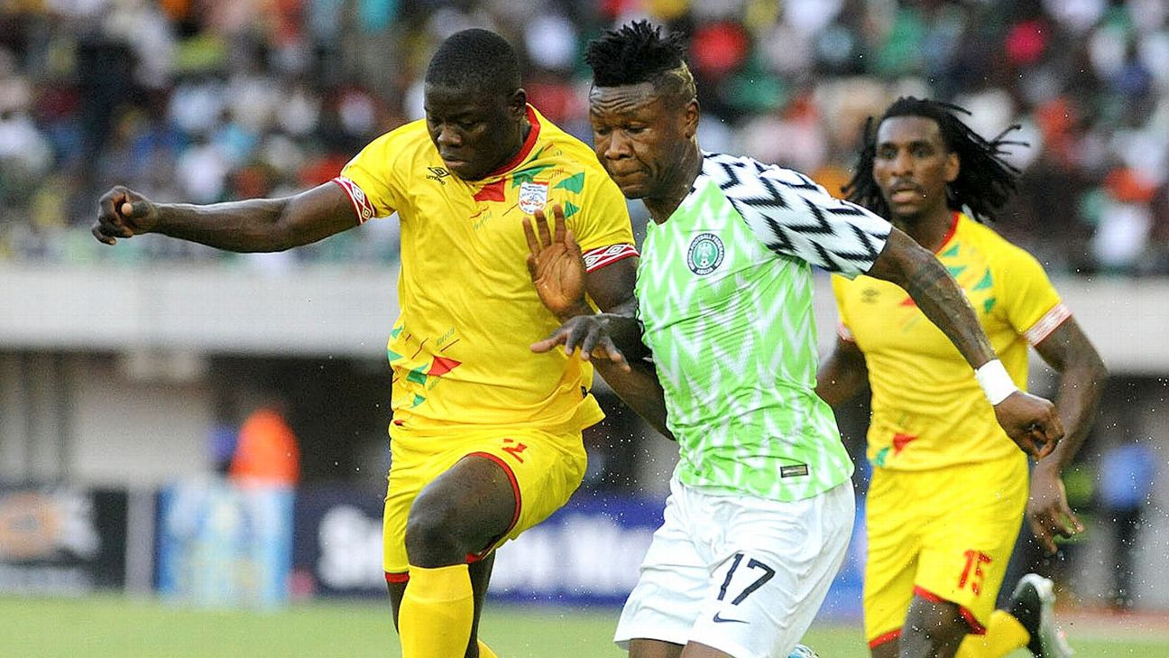 Samuel Kalu starred for Nigeria in the Super Eagles' Africa Cup of Nations qualifying campaign-opening fixture against Benin in Uyo.
