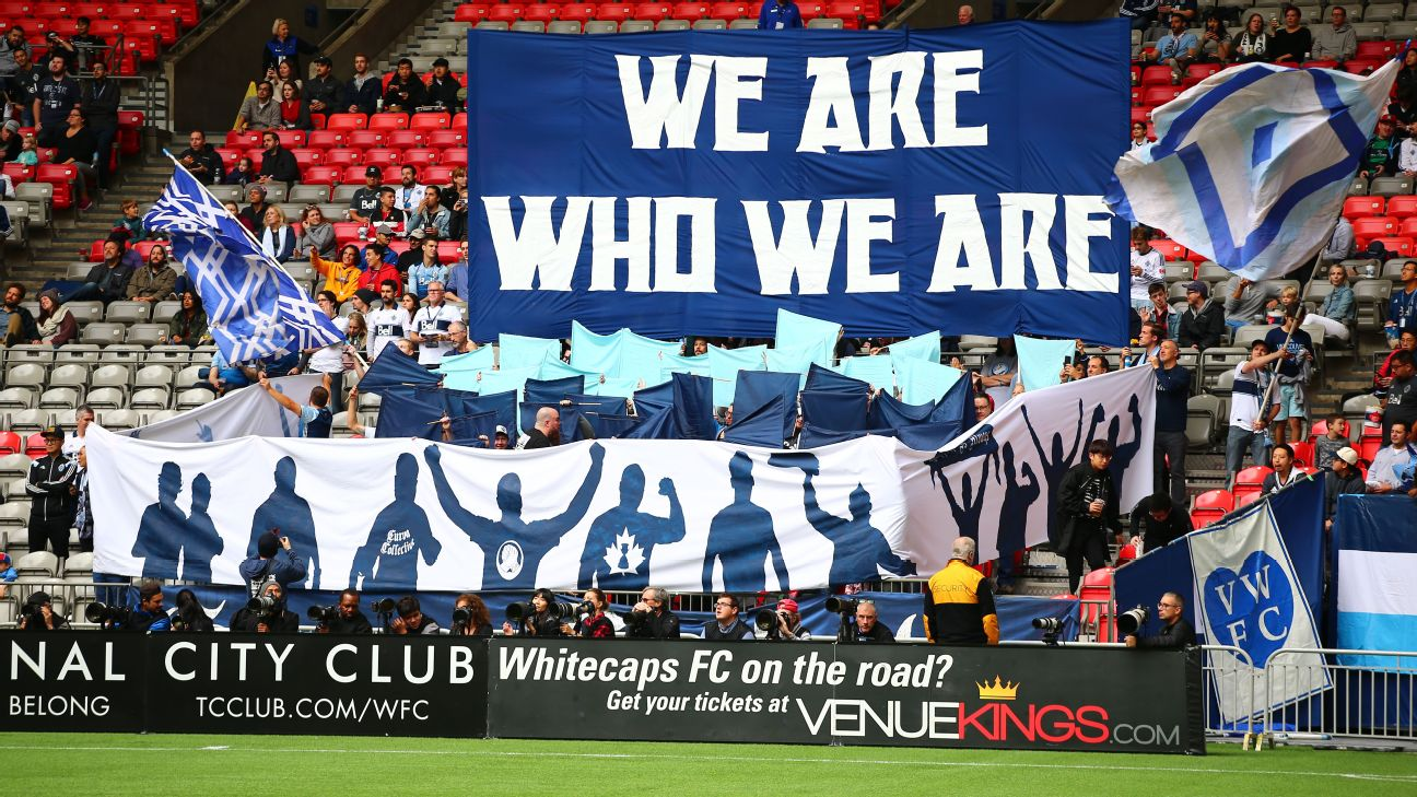 Vancouver Whitecaps supporters
