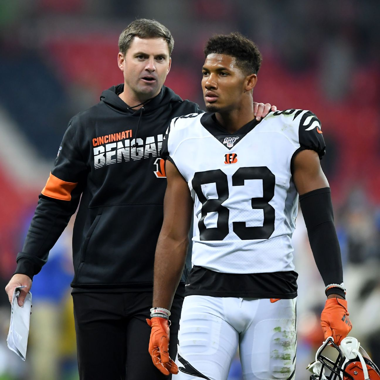 Bengals WR Tyler Boyd frustrated with lack of targets