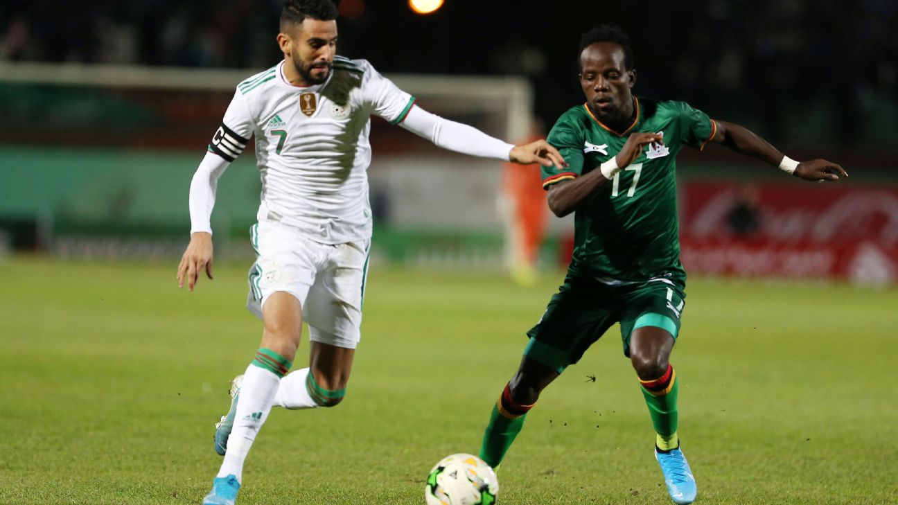 Riyad Mahrez and Algeria have made a strong start to qualifying in defence of their Africa Cup of Nations crown.