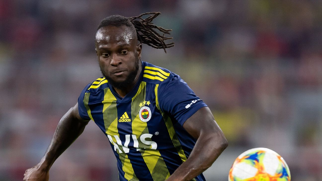 Victor Moses started well at Fenerbahce, but has dropped off sharply, prompting rumours of his being send back to Chelsea.