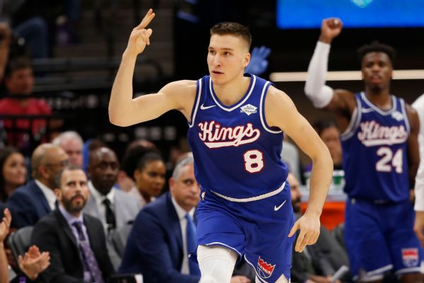Hawks sign Bogdanovic as Kings decline to match