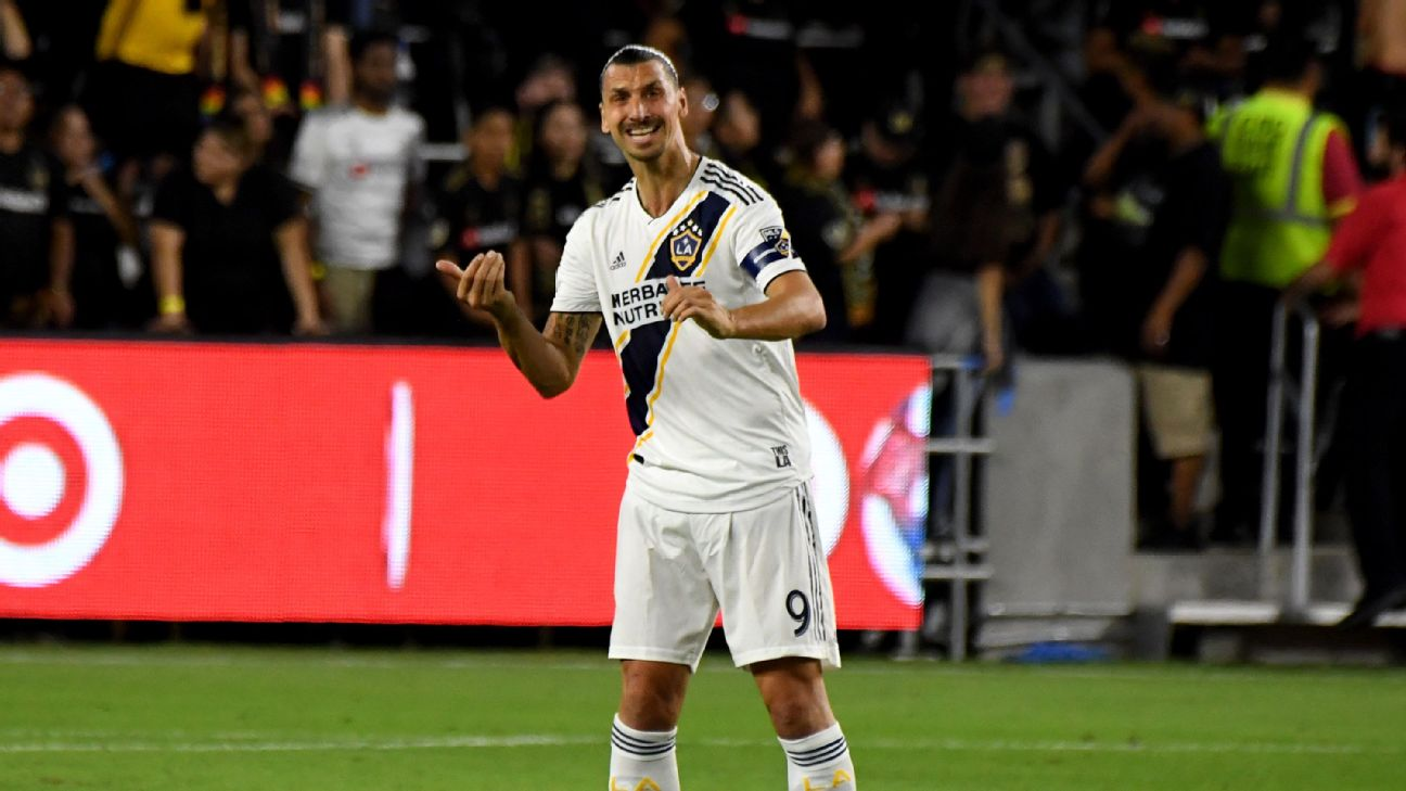 Zlatan Ibrahimovic played under Jose Mourinho at Inter Milan and Manchester United, leaving the latter to join MLS side LA Galaxy in 2018.