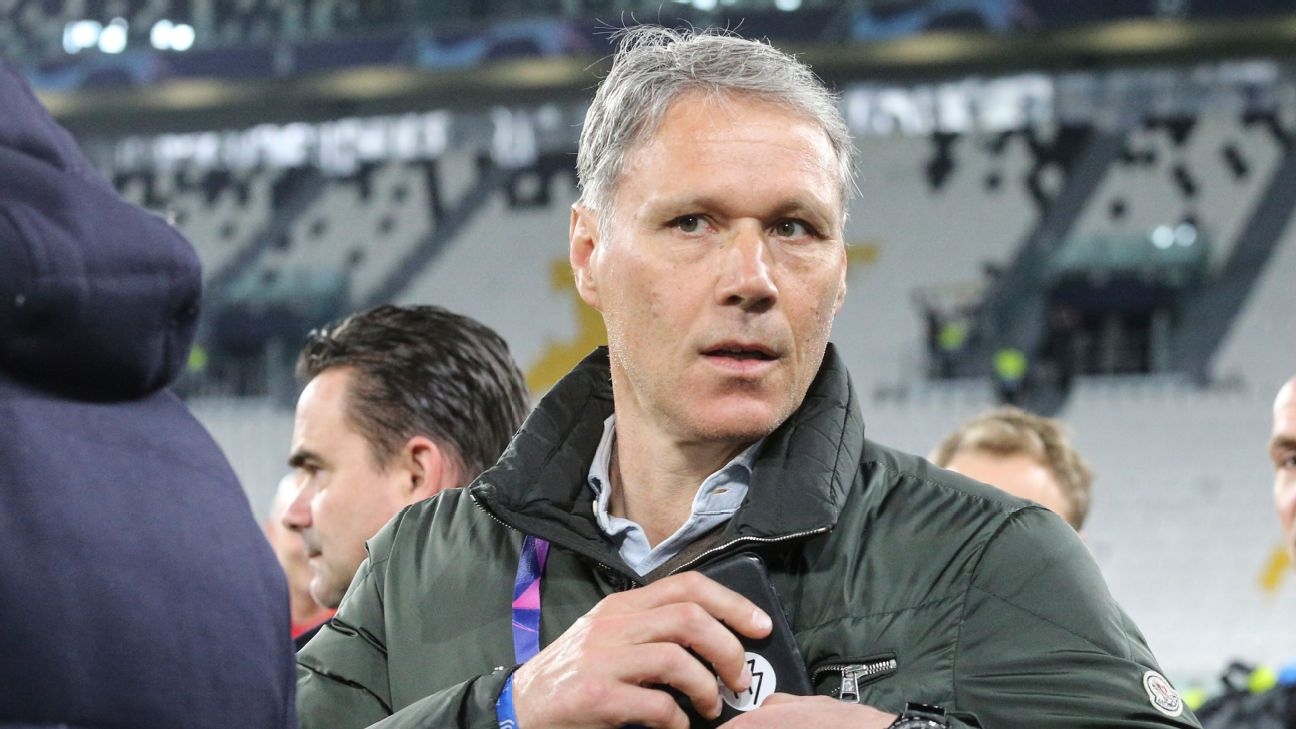 Former Netherlands striker Marco van Basten has been suspended by Fox for a week.