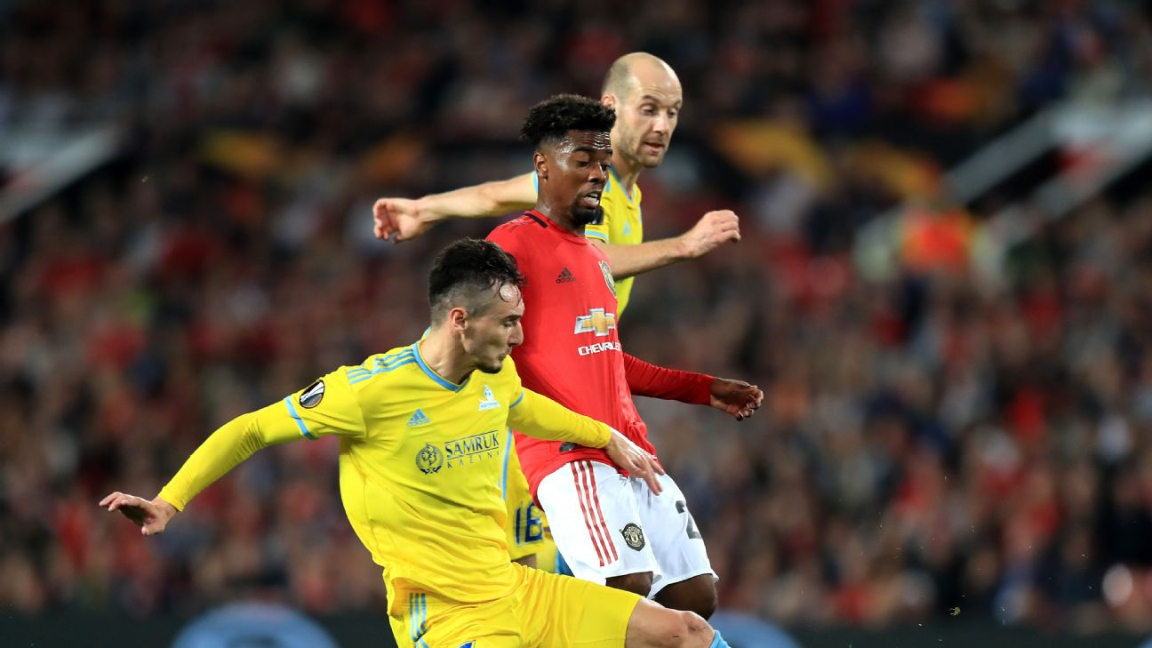 United began their Europa League group campaign in September with a 1-0 victory over Astana at Old Trafford